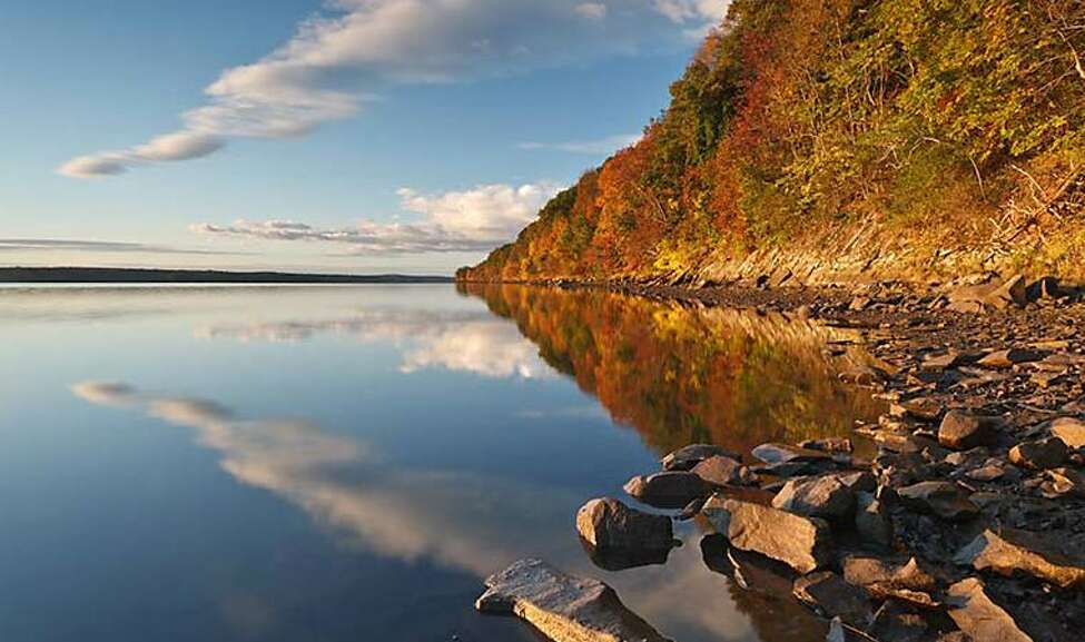 Falling Waters Preserve: Just outside Saugerties, this pleasant riverside nature spot is more walk than hike - with no more than 2 miles total of trails - but does allow for sights high and at sea-level, plus the remains of an ice house.
