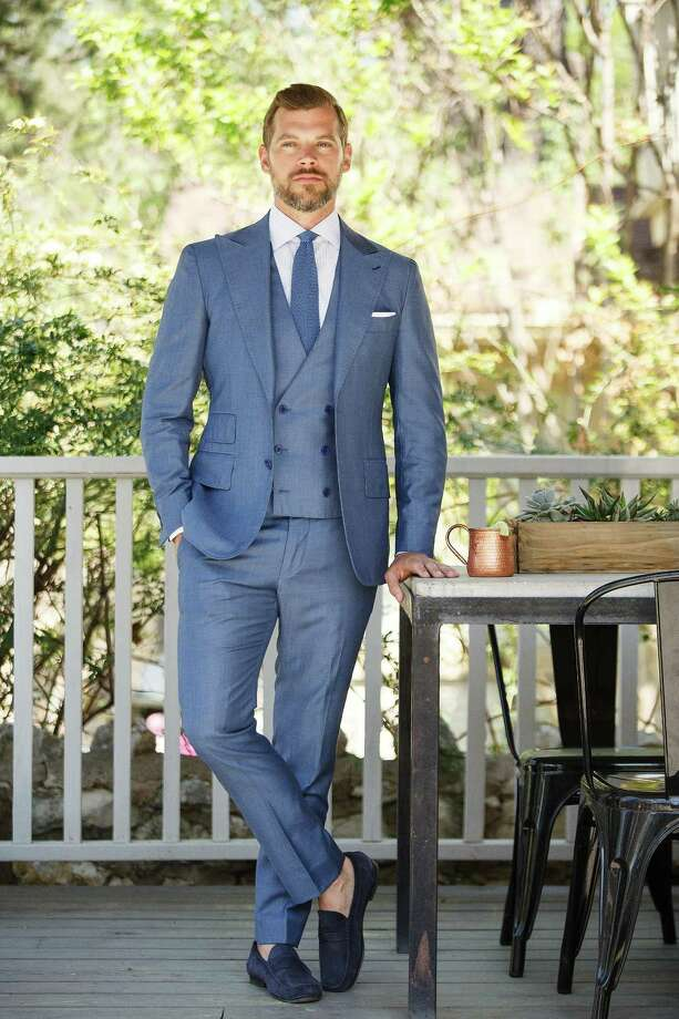 Drew Jones, founder of Dallas-basedHarper & Jones, has opened a Houston showroom  at 1902 Washington Avenue in Sawyer Heights. Founded in 2007 as D. Jones  Clothiers, clientele of the men's custom  apparel company includes athletes and celebrities.Prices for custom suits range from $895 to $3,995 and shirts from $125 to $400. Photo: Harper & Jones / Capital Retail Properties
