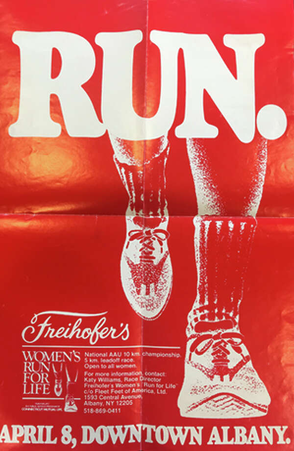 "1979: For the first two years of its existence, the Freihofer's Run for Woman was referred to as the ""Freihofer's Run for Life."" Its first edition was held on April 8 where it hosted the country's first Women's 10K (AAU) National Road Race Championship, a designation retained through 1988. The 1979 race drew 503 registrants, 260 of whom participated in a Leadoff 5K. The winner of the 10K AAU National Championship was Karin Von Berg, Ithaca, N.Y. (34:26) and Nina Kuscik, a pioneer in women's road running, crossed the line first in the masters (40+) division of the 10K in 37:42.  The 5K winner was Martha Swatt, Johnstown, N.Y. Photo: Courtesy Of Freihofer's Run For Women"