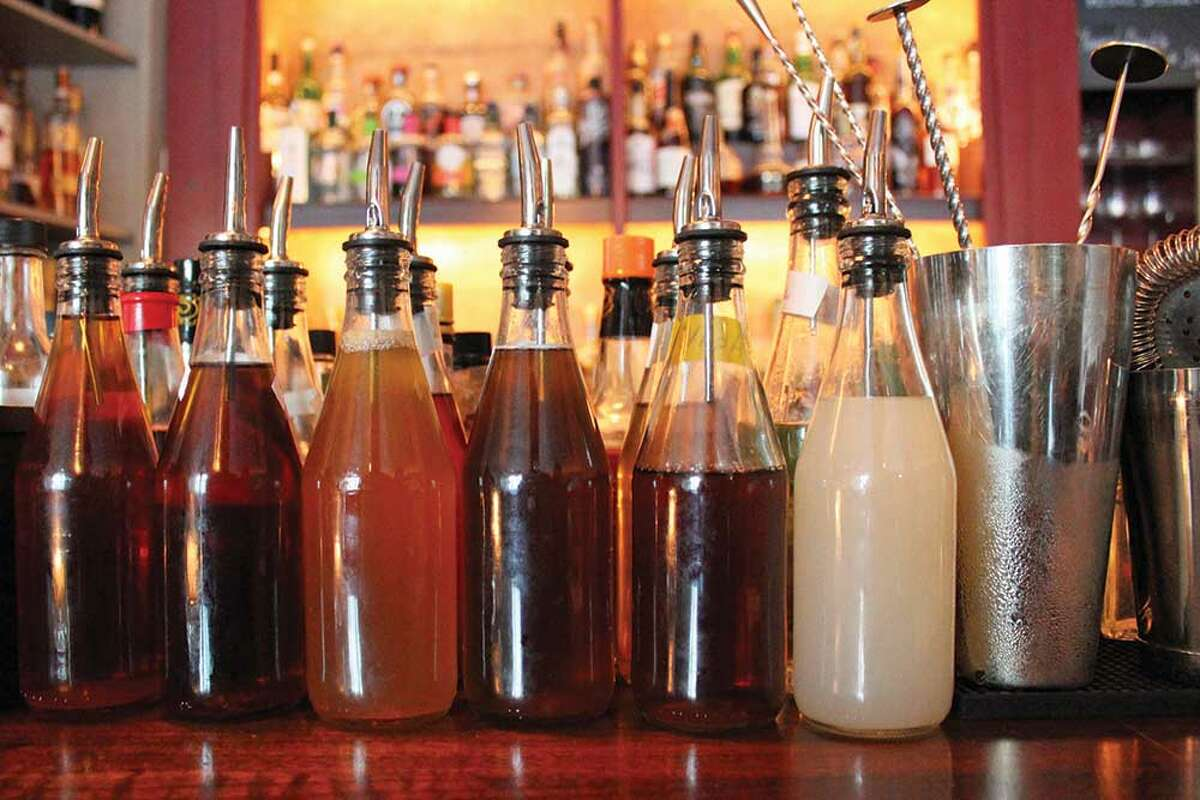 Potions, elixirs and mixers at Stockade Tavern in Kingston.