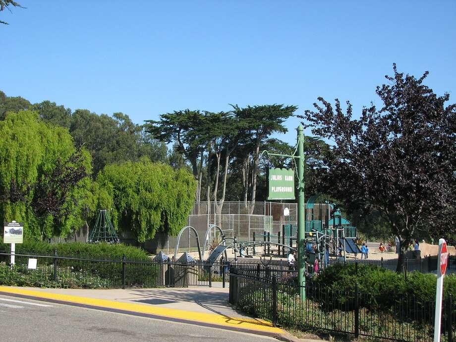 Julius Kahn playground in San Francisco. Photo: The Chronicle 2009