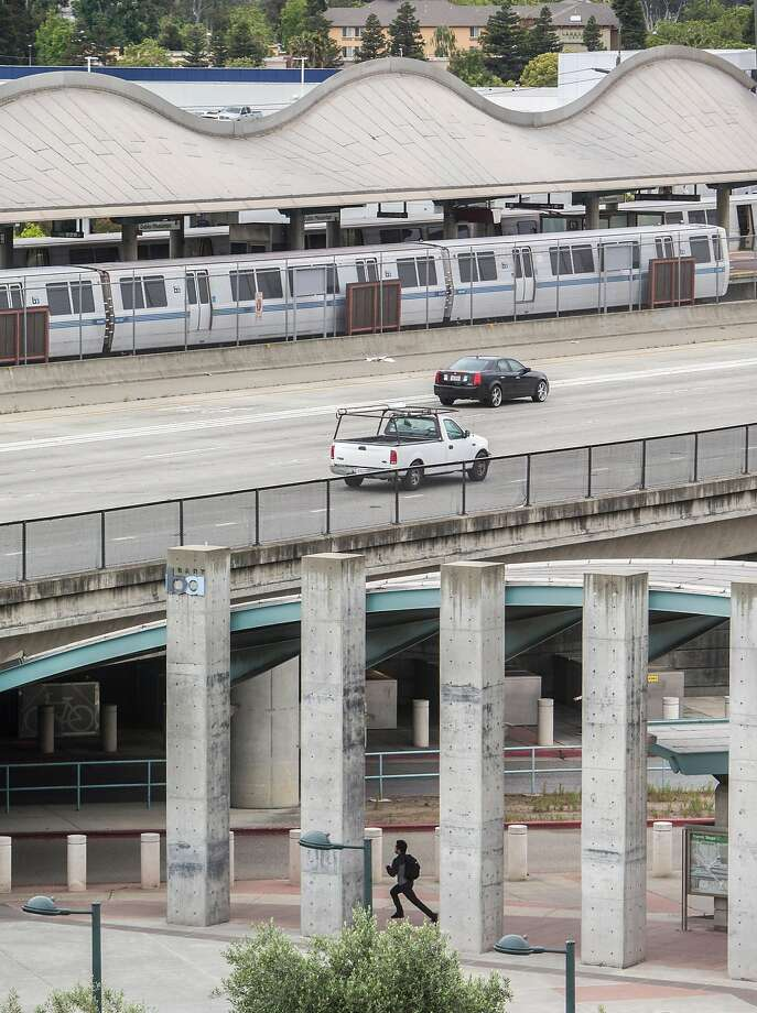 BART's Dublin-Pleasanton line could be extended 5.5 miles to Livermore if its directors approve the $1.6 billion project. Photo: Jessica Christian / The Chronicle