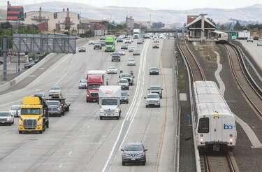 School bus accident on northbound Highway 101 near Redwood City