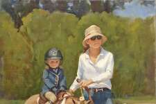 """""""Steady Steed"""" by Carol Brightman Johnson."""