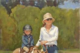 """Steady Steed"" by Carol Brightman Johnson."