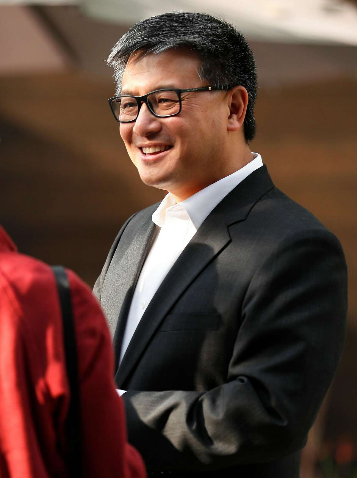 Democratic gubernatorial candidate John Chiang at the Asian Pacific Islander Heritage Month Reception at California Democratic Party HQ in Sacramento, CA on Wednesday, May 16, 2018.