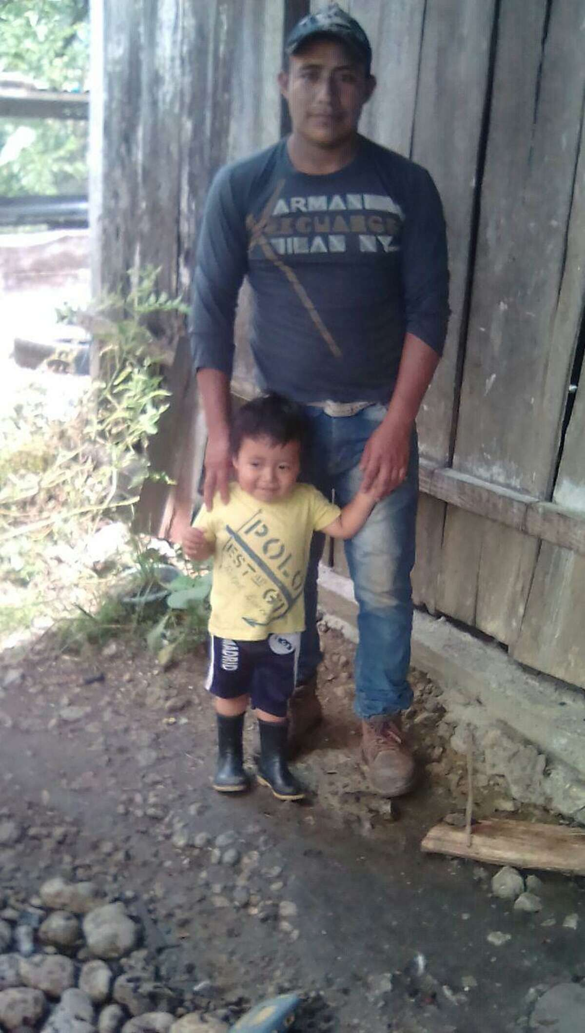 Esteban Pastor, 29, hoped Border Patrol agents would free him and his 18-month-old son while they fought their deportation case. Instead the father was imprisoned for crossing the border illegally and his toddler was placed in federal foster care. For months, Pastor said he didn?'t know what had happened to his son and he was deported to Guatemala without him last October.