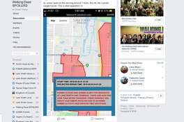 Residents discussed the city's false zombie alert in a public Facebook group called Lake Worth Local Public.