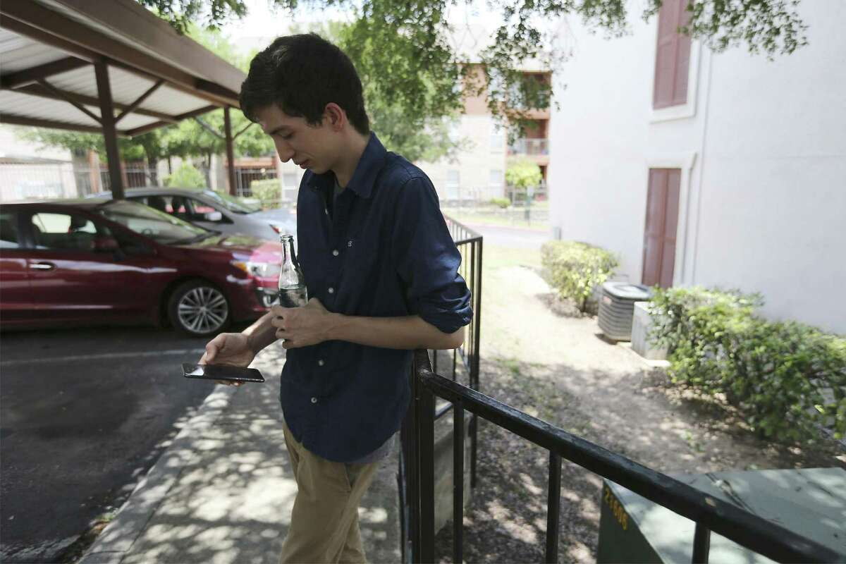 Brandon Davis, 26, is one of 24,208 new residents who arrived in San Antonio's city limits between July 2016 and July 2017. Some of that population increase can be attributed to people moving into the area, while some of it is due to births outnumbering deaths, Texas State Demographer Lloyd Potter said.