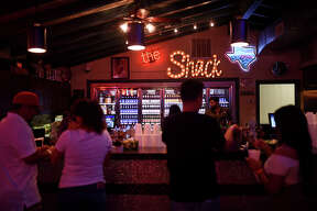 Party on the Patio, May 23, 2018, at Shack in the Back.  James Durbin/Reporter-Telegram
