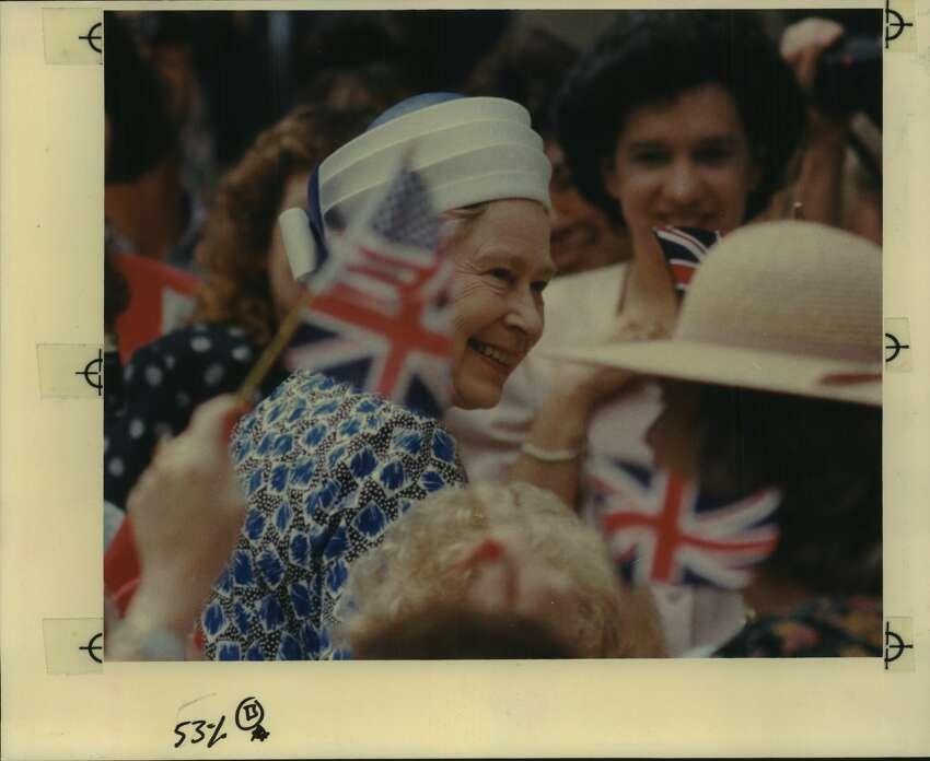 Queen Elizabeth II visits San Antonio, Texas