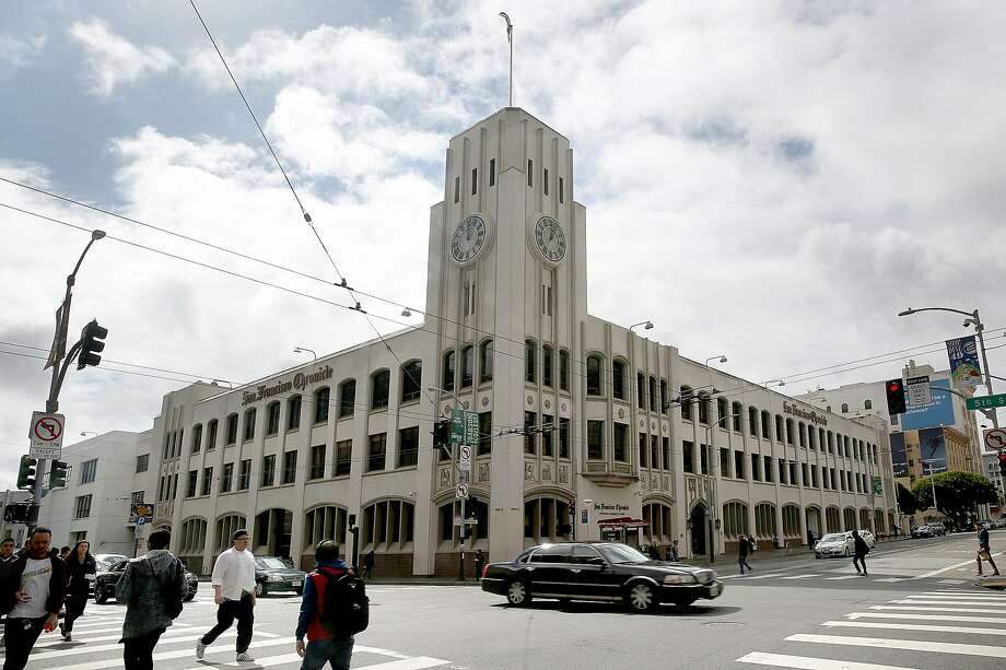 The San Francisco Chronicle Building at 901 Mission St. Photo: Liz Hafalia, The Chronicle