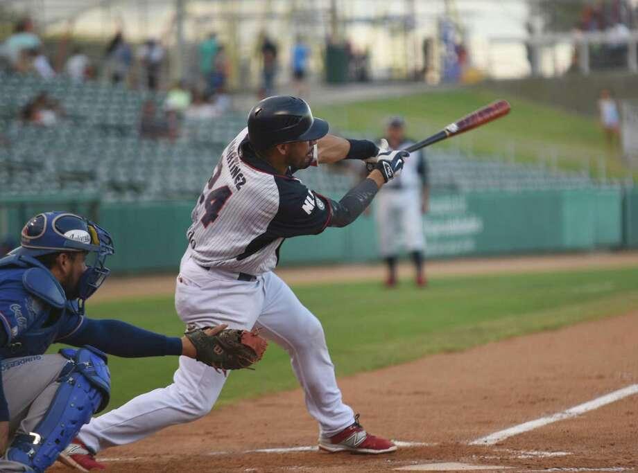Third baseman Juan Martinez had a hit and a walk in the Tecolotes' 3-1 loss to Monclova Wednesday night. Photo: Christian Alejandro Ocampo /Laredo Morning Times / Laredo Morning Times