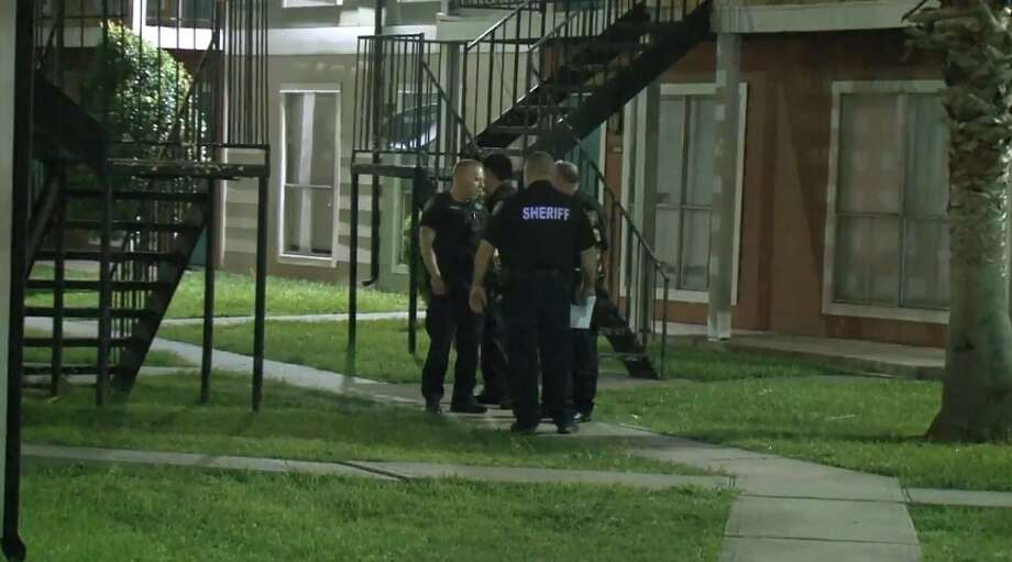 A man was shot after intruders busted into his Cypress Station apartment on Thursday, May 24, 2018. Photo: Metro Video