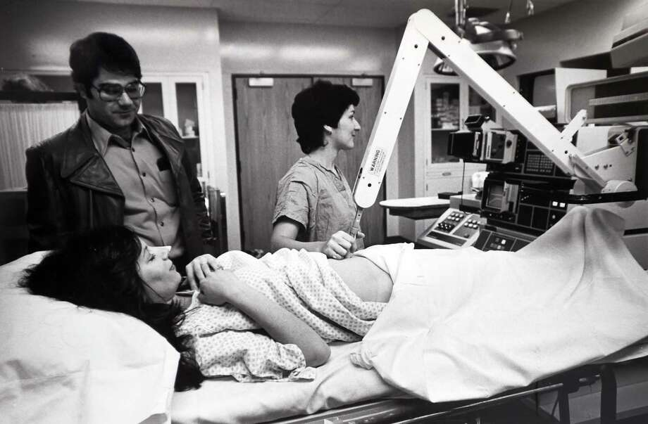 Ultrasound procedures at Yale-New Haven Hospital Photo: Yale-New Haven Hospital Archives / New Haven Register