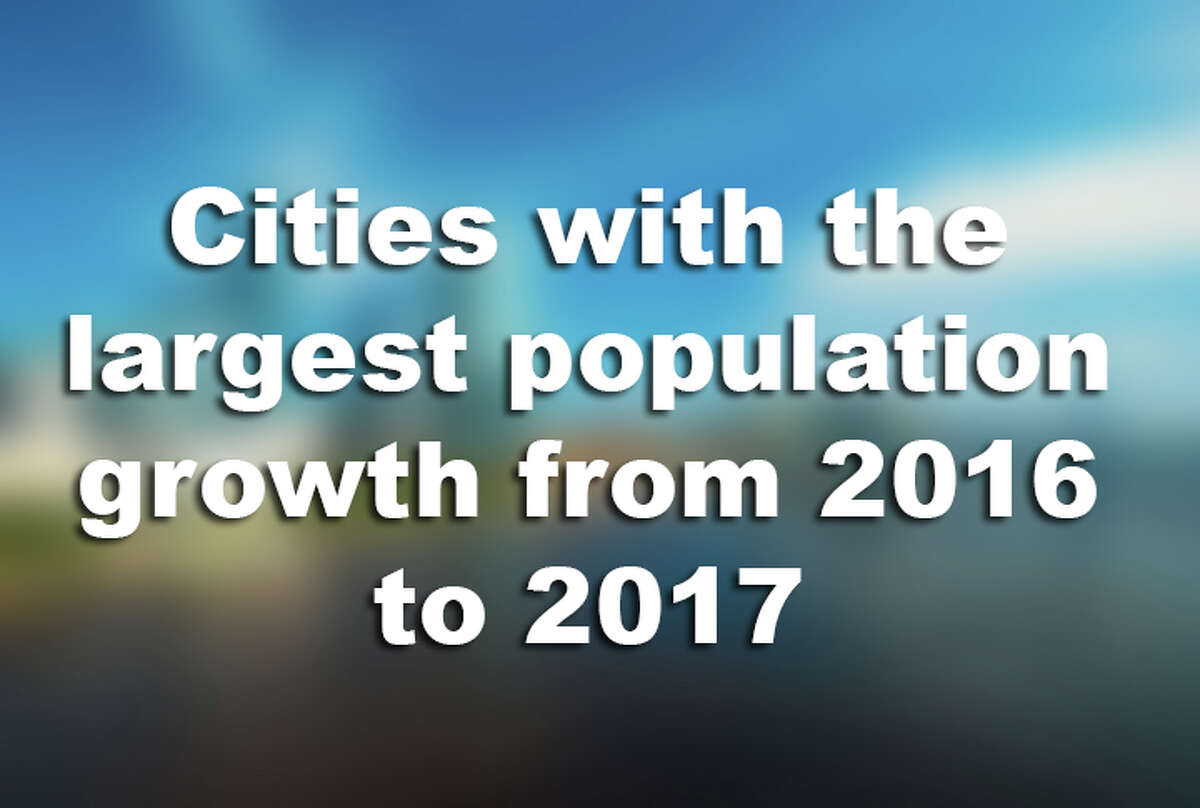 Click through the slides to see the 15 cities with the most population growth between 2016 and 2017.