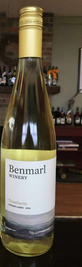 Benmarl Winery traminette. (Winery publicity photo.) Photo: Provided