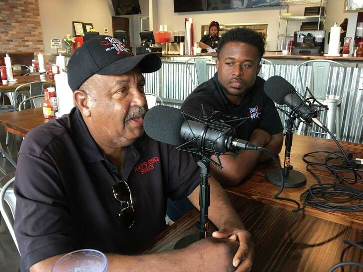 Ray Busch, left, and Herb Taylor are co-owners of Ray's BBQ Shack. The new Ray's is at 3929 Old Spanish Trail. Busch and Taylor talked about their new restaurant on the Barbecue State of Mind podcast.