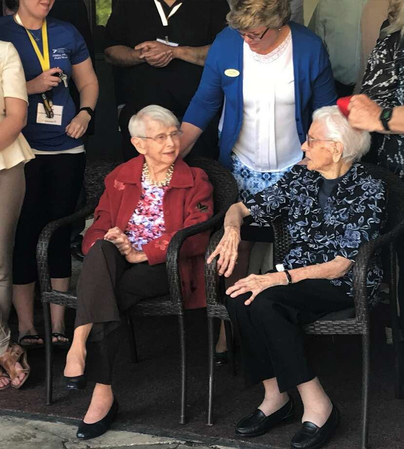 The Midland Area Chamber of Commerce and city officials had a ribbon cutting ceremony Wednesday, May 23 for the west side renovation of Washington Woods Senior Housing. Photo: Ben Tierney