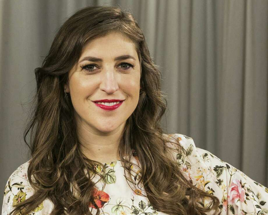 Mayim Bialik poses for a photo in Los Angeles. Photo: Damian Dovarganes, STF / Associated Press / Damian Dovarganes