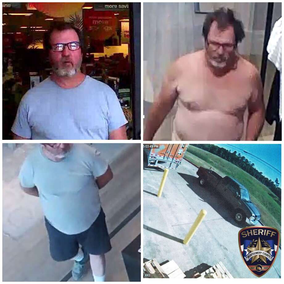 "This white male is believed to be in his 40's or 50's, about 6'00"", about 240 pounds, brown wavy hair with bald spot on back top of head, greying beard, dark plastic glasses, and distinct pot belly. He is driving a dark gray Ford F250 or F350, 1999 to 2007 year model, extended cab, short bed, black bug deflector on hood, no front or rear license plate number displayed."