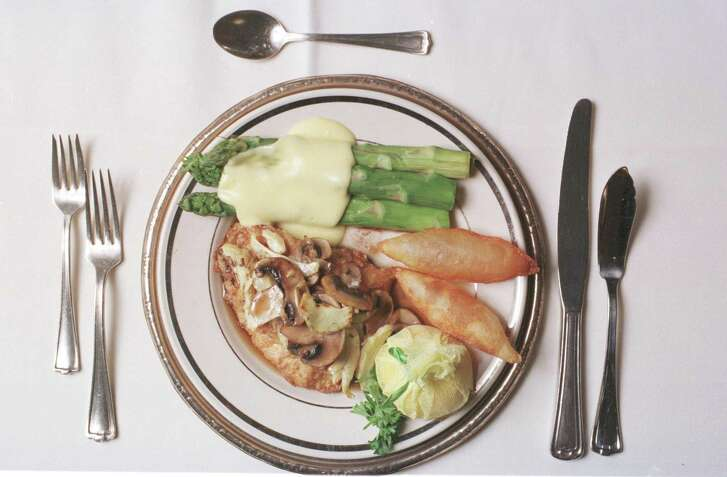 Snapper Excelsior was among the many famous dishes at the legendary Maxim's.