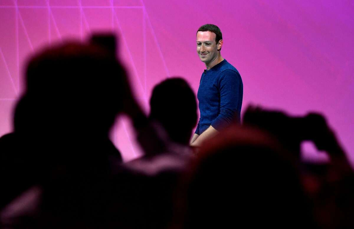 Facebook's CEO Mark Zuckerberg arrives to deliver a speech during the VivaTech (Viva Technology) trade fair in Paris, on May 24, 2018. / AFP PHOTO / GERARD JULIENGERARD JULIEN/AFP/Getty Images