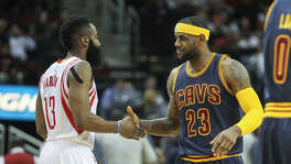 James Harden, LeBron James