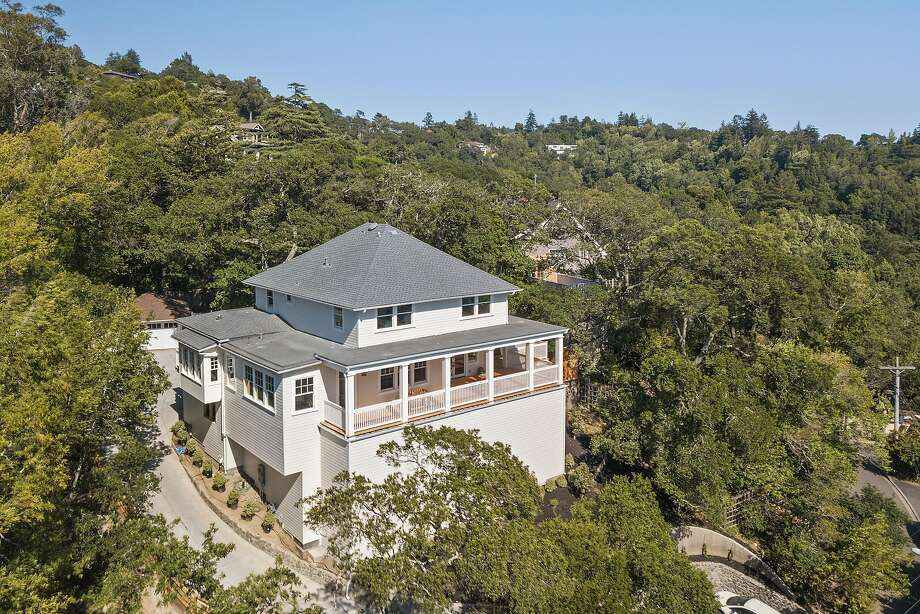 43 Alta Vista Ave. in San Anselmo is a five-bedroom available for $3.75 million. Photo: Open Homes Photography