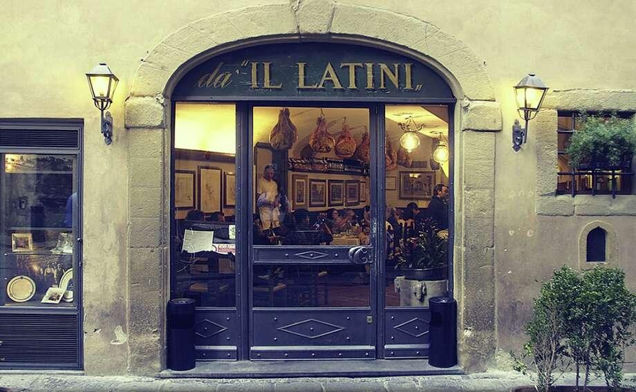 Joe's favorite restaurant, Il Latini in Florence. Photo: Il Latini