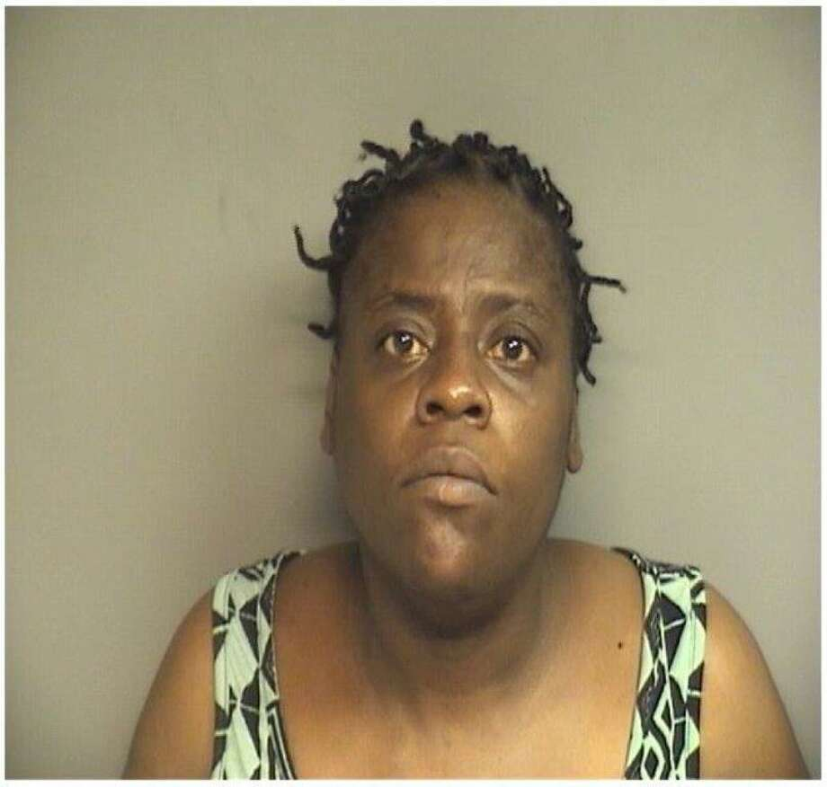 Tasha Peele, 46, was arrested for the third time in three months for shoplifting tequila at local liquor stores in Stamford. Photo: Stamford Police / Contributed