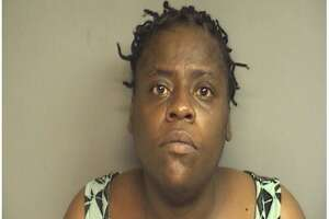 Tasha Peele, 46, was arrested for the third time in three months for shoplifting tequila at local liquor stores in Stamford.