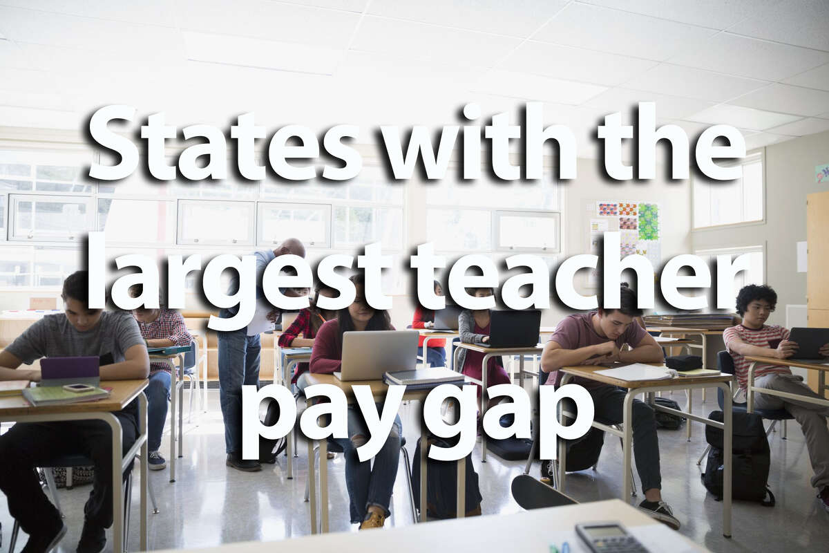 Credit Sesame collected data on states' average salary for college graduates compared to average salary for teachers, calling it the
