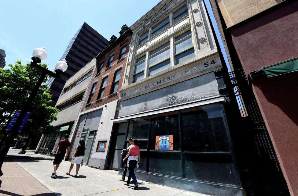 Click through the slideshow for a few apartment options that could be coming soon. Exteriors of 52-54 North Pearl St. on Thursday, May 24, in Albany. Owner Chris Pratt plans to add apartments to the downtown property.