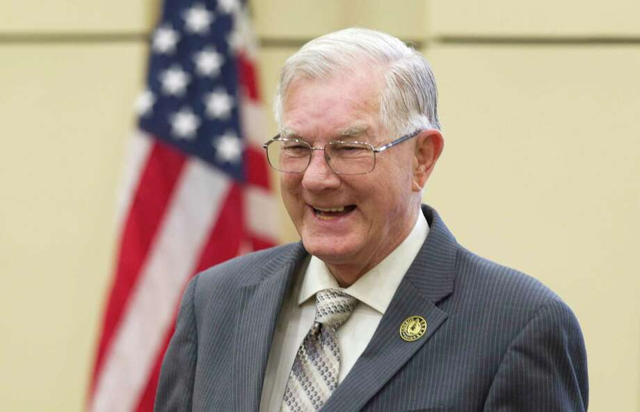 Current Conroe Mayor Toby Powell died on Sept. 12 after battling cancer. Photo: Jason Fochtman, Staff Photographer / Houston Chronicle / © 2018 Houston Chronicle