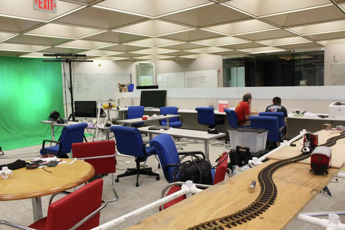 A temporary maker space for engineering and computing students is offered at Sacred Heart University's campus on the former GE property.