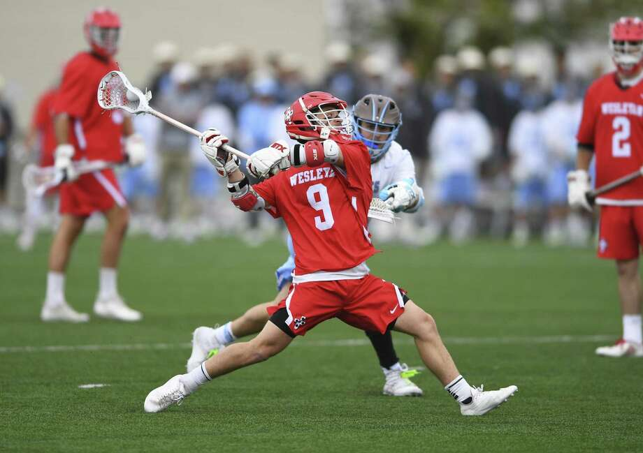 New Canaan's Cole Turpin is a senior on the Wesleyan men's lacrosse team. Wesleyan plays for the Division III national title on Sunday. Photo: Steve McLaughlin / Submitted