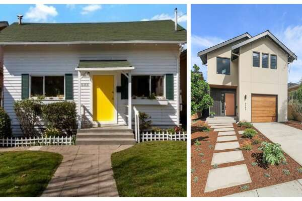 Left: 5355 Manila Ave. two years ago. 