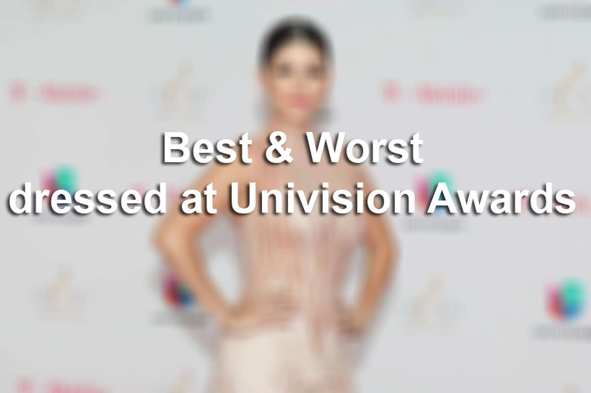 Keep clicking to see the best and worst dressed at a recent Univision awards show.