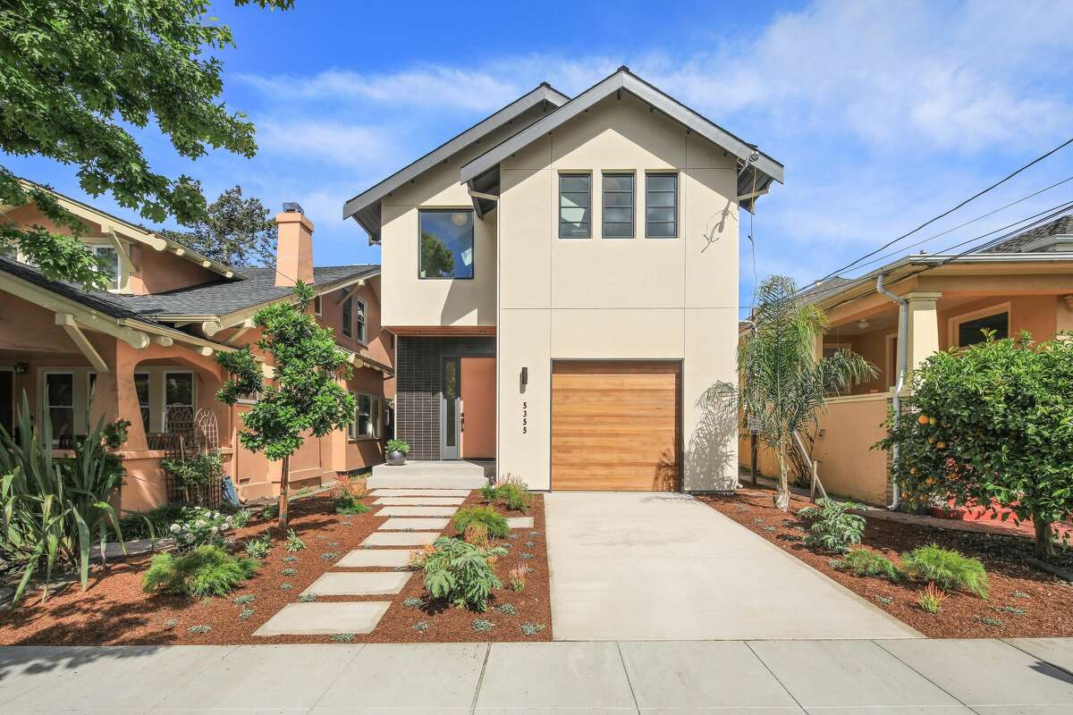 A three-bedroom, three-bathroom home at 5355 Manila Ave. in Oakland's Rockridge neighborhood is on the market for $1.495 million.