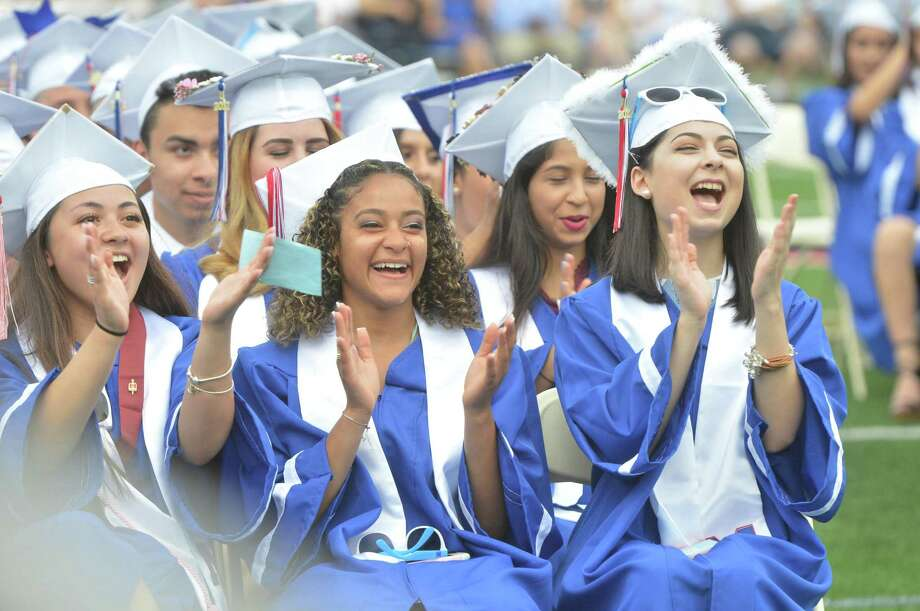 The Brien McMahon High School's Fifty-Sixth Commencement Exercises on Tuesday June 13, 2017 in Norwalk Conn. Photo: Alex Von Kleydorff / Hearst Connecticut Media / Norwalk Hour