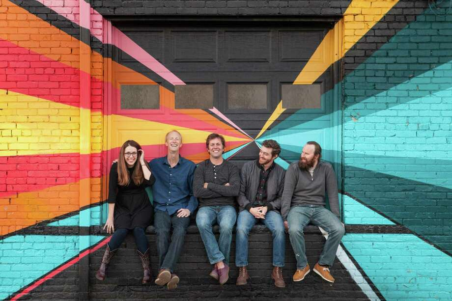Bluegrass band Trout Steak Revival will be appearing for the first time this year at the Greenwich Town Party. Photo: Contributed /