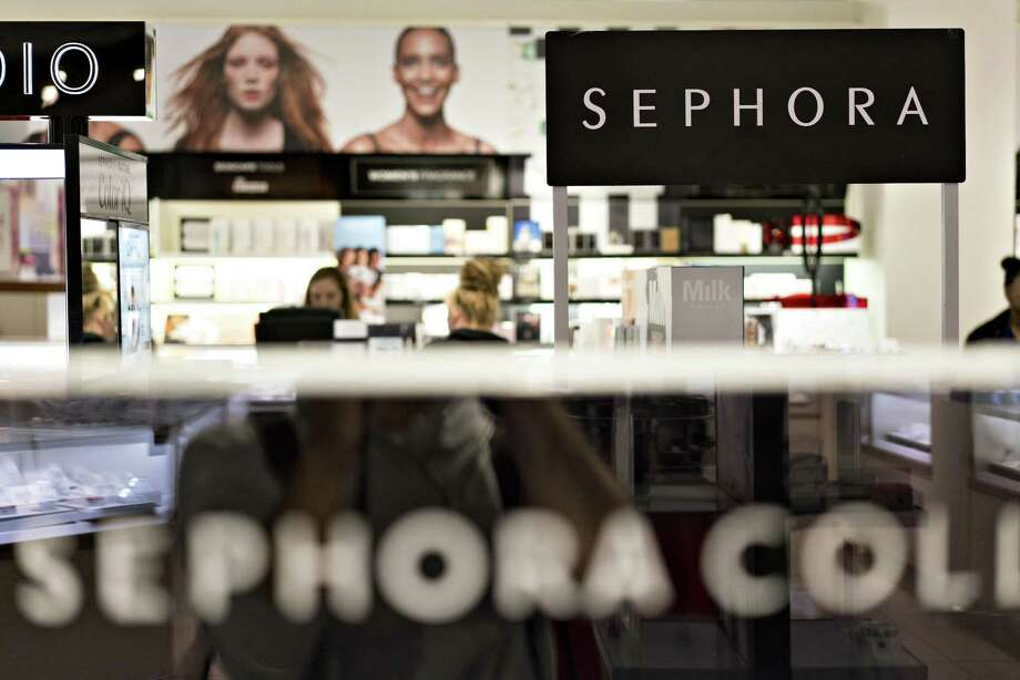 Signage is seen in the Sephora JCPenney area inside a J.C. Penney Co. store in Peoria, Illinois, U.S., on Saturday, May 12, 2018. J.C. Penney Co. is scheduled to release earnings figures on May 17. Photographer: Daniel Acker/Bloomberg Photo: Daniel Acker / Bloomberg / © 2018 Bloomberg Finance LP