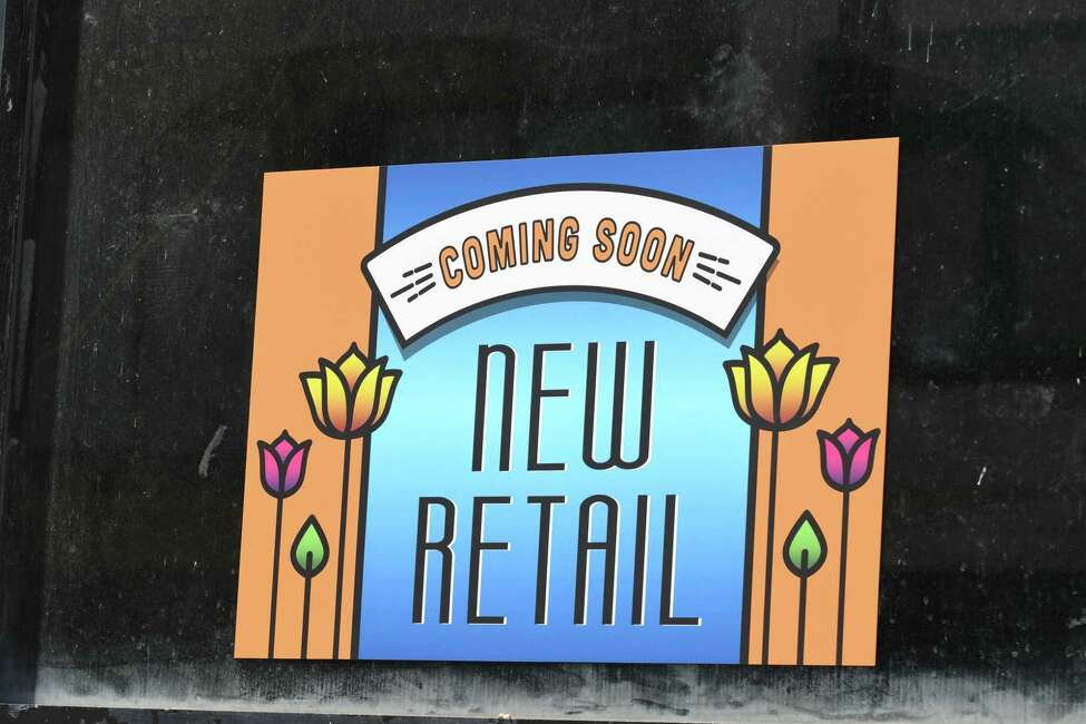 A sign in the window of 52 North Pearl St. alludes to a new retail space on Thursday, May 24, in Albany. Owner Chris Pratt plans to add apartments and retail space to the downtown property.