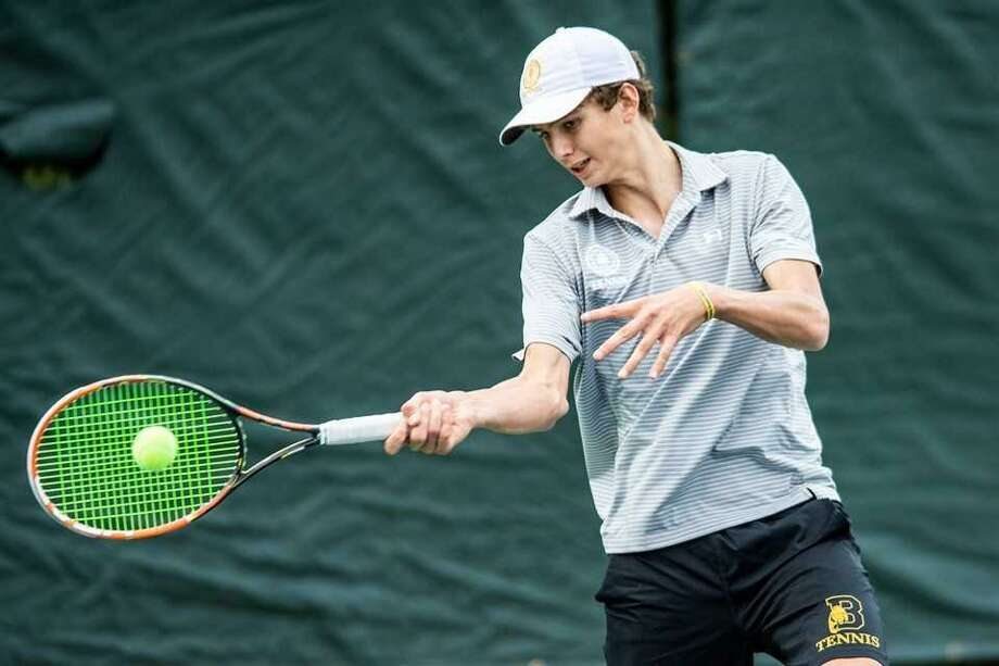 Ryan Glanville excelled at No. 3 singles position for undefeated Brunswick during the regular season. Photo: Contributed Photo