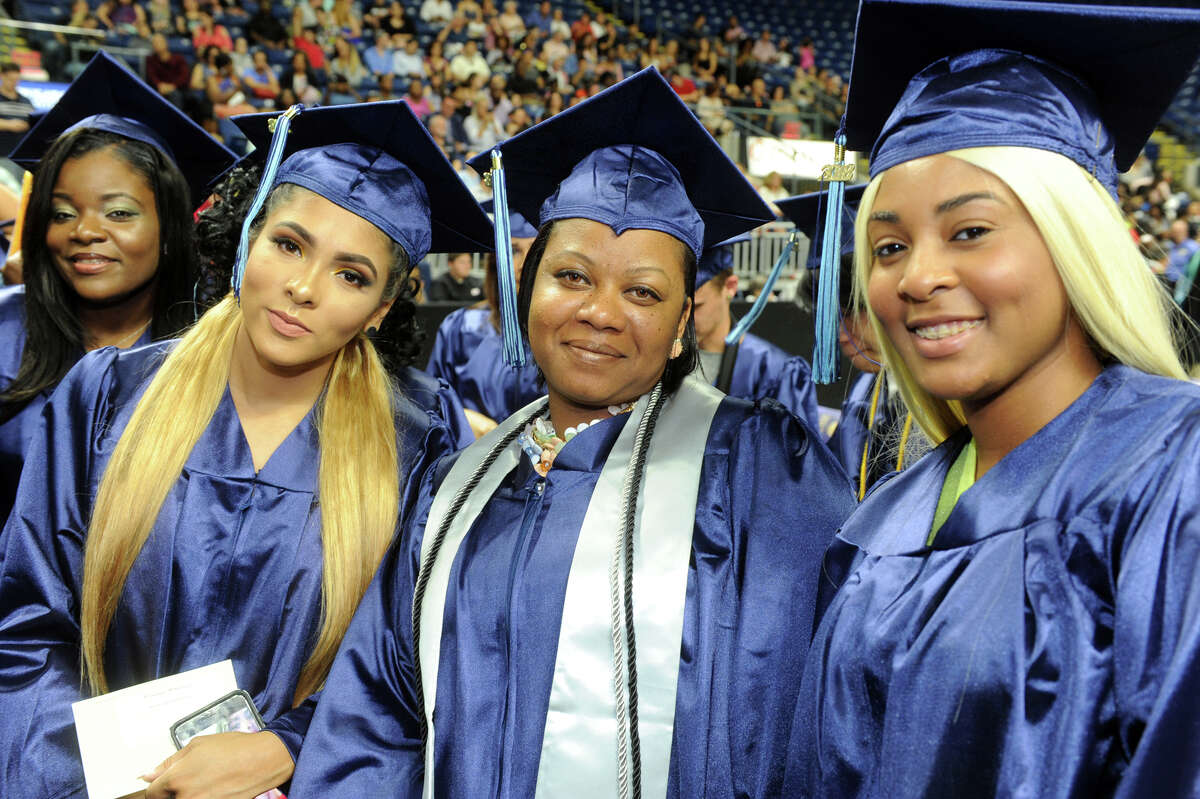 Housatonic Community College held Commencement for the graduating Class of 2018 at the Webster Bank Arena, in Bridgeport, Conn. May 24, 2018.