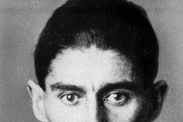 Undated handout file photo of author Franz Kafka. It could shed light on one of literature's darkest figures: A long-hidden trove of never-published writings by Franz Kafka retrieved from safety deposit boxes where they have sat for decades. Over the past week, the pages have been pulled out of 10 safety deposit boxes in Tel Aviv and Zurich, Switzerland, on the order of an Israeli court over the objections of two elderly women who claim to have inherited them from their mother.