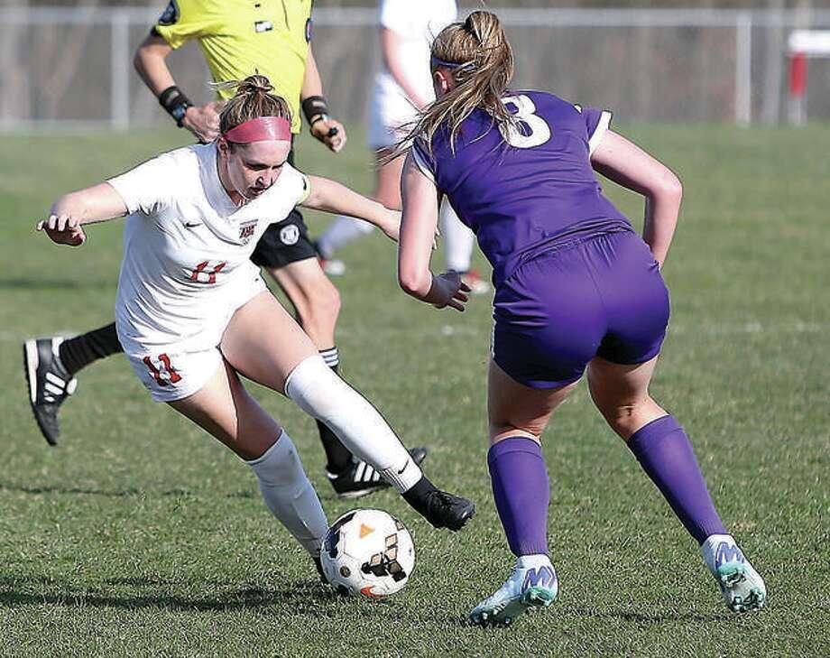 Alton High School Girls Varsity Soccer Spring 2018 2019 Game