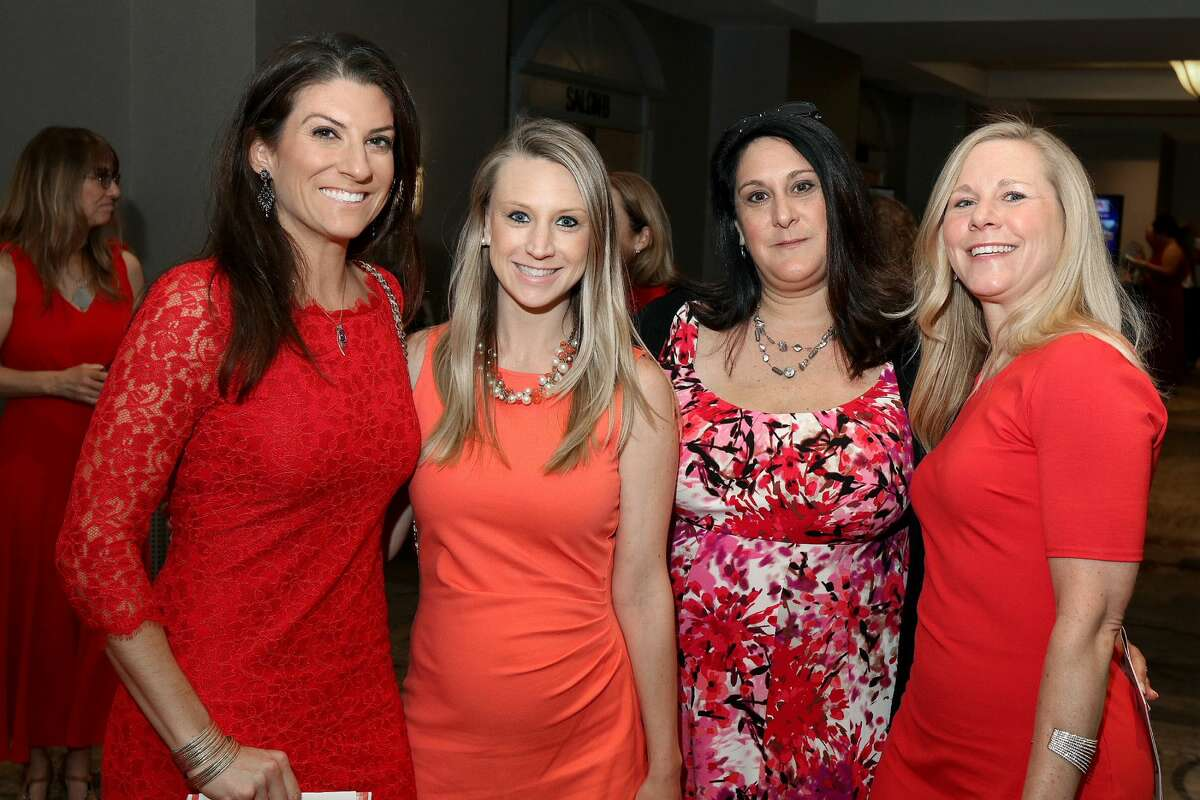 Were you Seen at the 14th Annual Go Red for Women luncheon, a benefit for the American Heart Association, at the Albany Marriott in Colonie on Thursday, May 24, 2018?