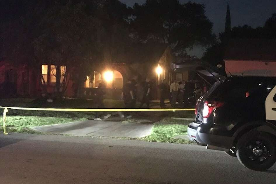 San Antonio police said a woman was stabbed to death in the 2100 block of West Kings Highway Thursday May 24, 2018.